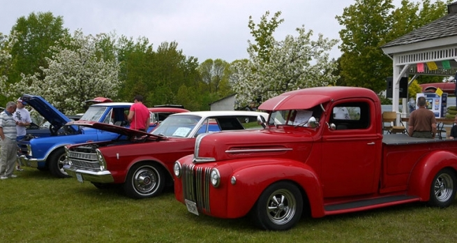 Annual Bruce Mines Car Show